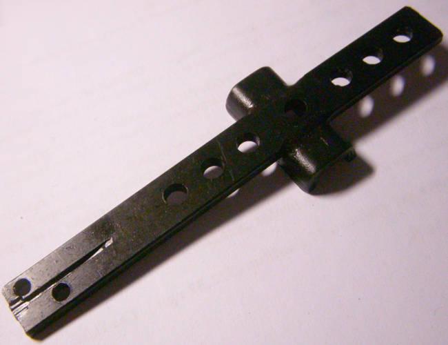 Плоский шток электролобзика Craft-tec 1100 длиной 107 мм
