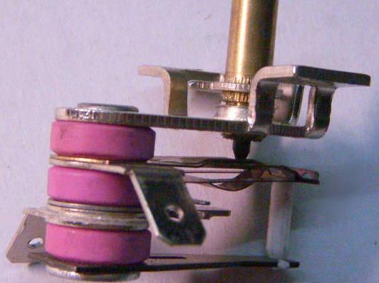 Биметаллический терморегулятор электроплиты Skina, Saturn