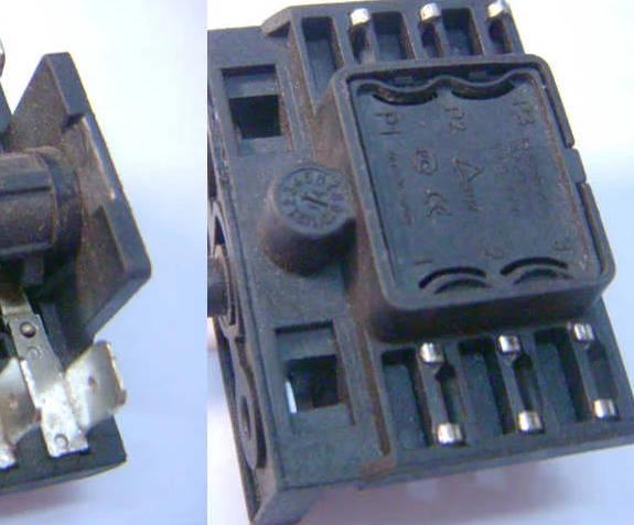3-позиционный переключатель электроплиты Asel