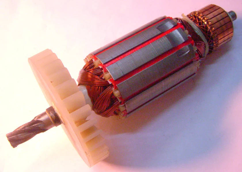 Якорь дисковой электропилы Витязь ПД-1500, Арсенал ПД-190, МЗПО ПД-185-1500
