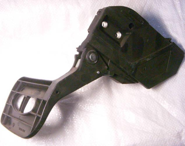 Защитный тормоз предохранитель в сборе с боковой крышкой и натяжителем цепи, для цепной бензопилы