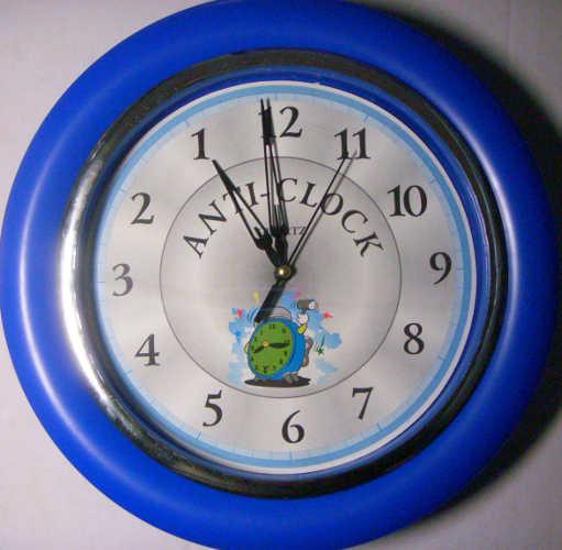 Anti-Clock Blue