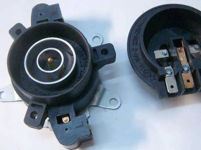 Контактная автоматика электрочайника K6-JD, SL168-13A