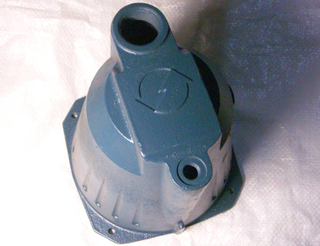 Длинный чугунный корпус насоса гидрофора Euroaqua, Pump JET100a, Насосы+ AUJET 80