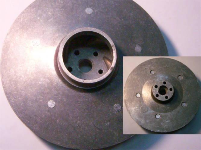 Рабочее колесо 130 мм насоса БЦ 1,1 под жигулевский сальник
