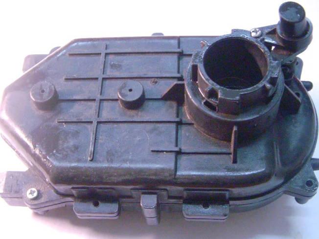 Корпус редуктора для мясорубки типа Elenberg/ Scarlett, с боковой кнопкой