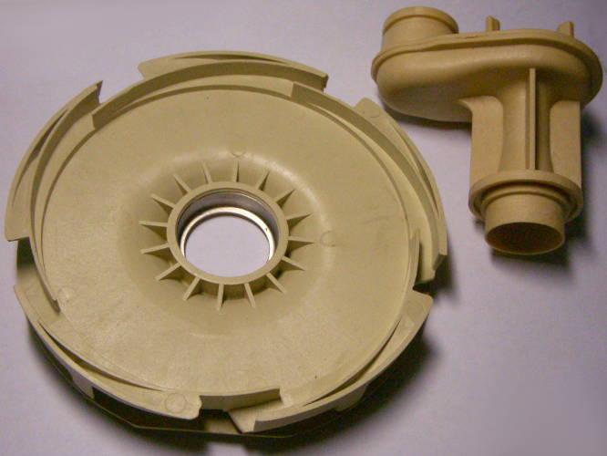 Разборный диффузор под колесо 120 мм и трубкой вентури высотой 87 мм
