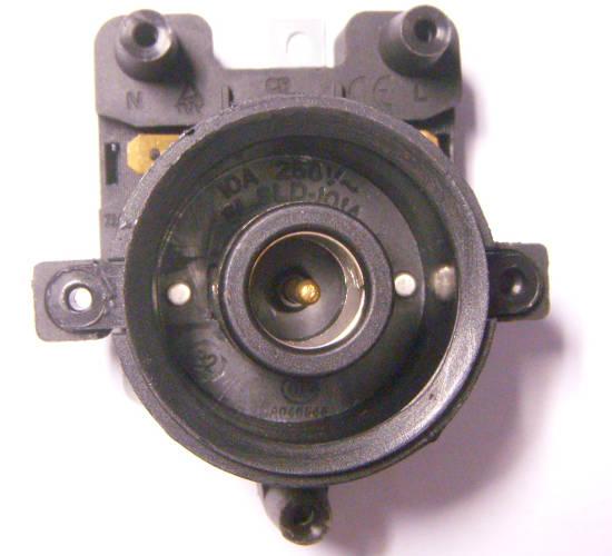 Верхняя вилка контактной группы электрочайника Aurora
