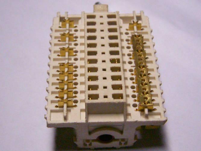 7-ми позиционный переключатель 11НЕ-056 для электроплиты Indesit K3C0