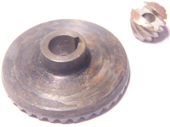 Коническая зубчатая пара 65*14-h15*8 болгарки Буран УШМ 05180М