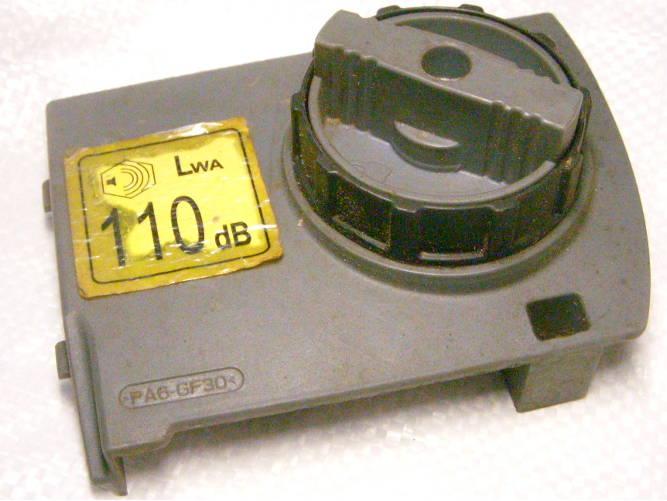 Короткая боковая крышка с ручкой натяжителя цепи для цепной электропилы