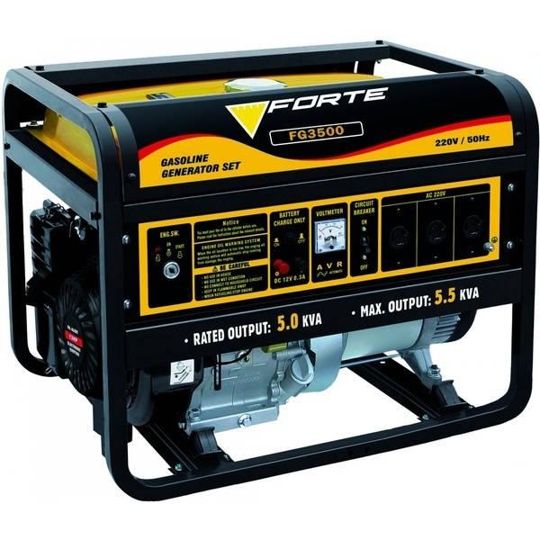 Для дома и сада - Электростанции - Forte FG3500 Бензогенератор