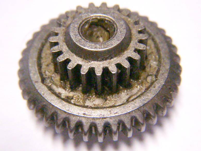 Кассета редуктора шуруповерта диаметрами 16 и 29 мм высотой 10 мм