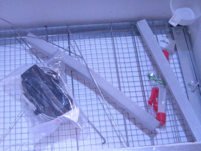 Инкубатор Наседка на 70 куриных яиц в пластиковом корпусе с механическим преворотом