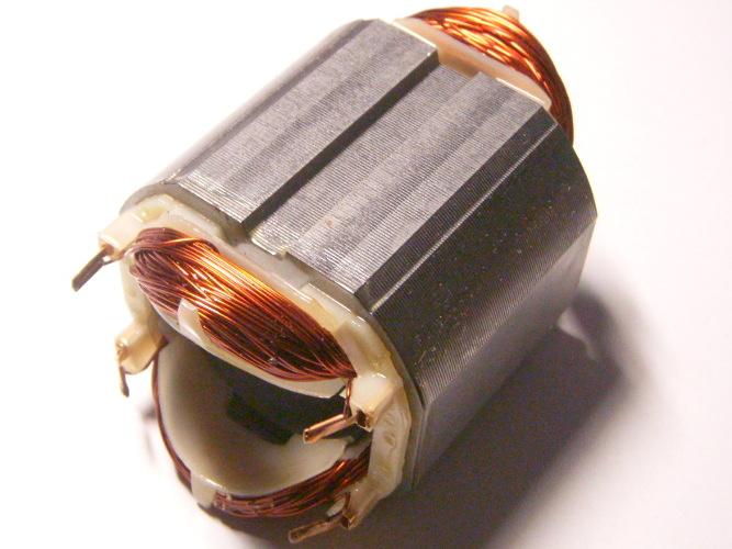 Статор электродрели Vorskla ПМЗ-900, перфоратора Bosch GBH 2-26 под якорь 35 мм, размер по диагонали 61 мм, длина каркаса 47 мм