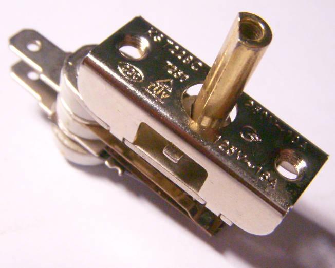 Биметаллический терморегулятор 16Aмпер для электроплиты Злата, Stenson, Saturn