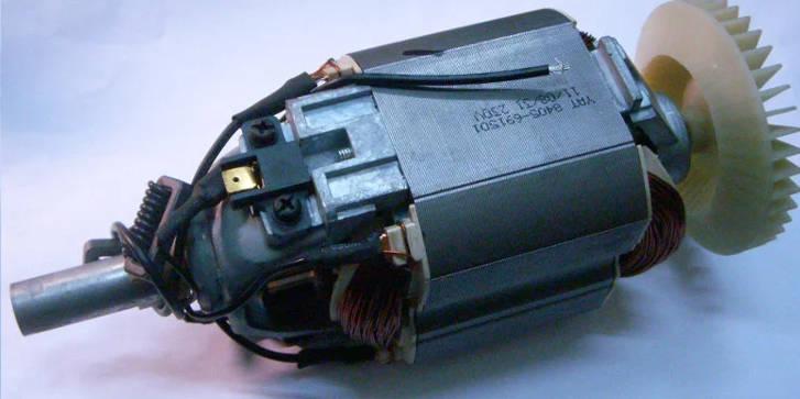 Электродвигатель садового триммера Клевер, Craft-Tec, ТЕМП КГ-1500