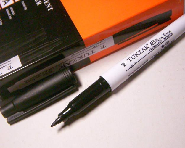Канцелярские товары первой необходимости - Маркер - Тонкий маркер 1 мм (10 шт)
