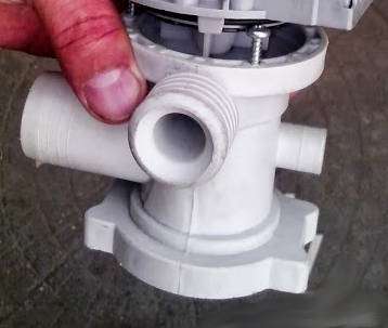 Запасные части бытовой техники - Стиральной машины - Насос - Корпус насоса Indesit