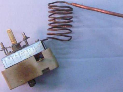 Ремонт терморегулятора для электроплиты Электра