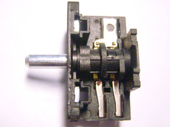 Четырех позиционный переключатель T150 до 16 ампер, размер 48*28 мм для электродуховки Asel AF-0023, AF-0123, Saturn ST-EC1072, ST-EC1077