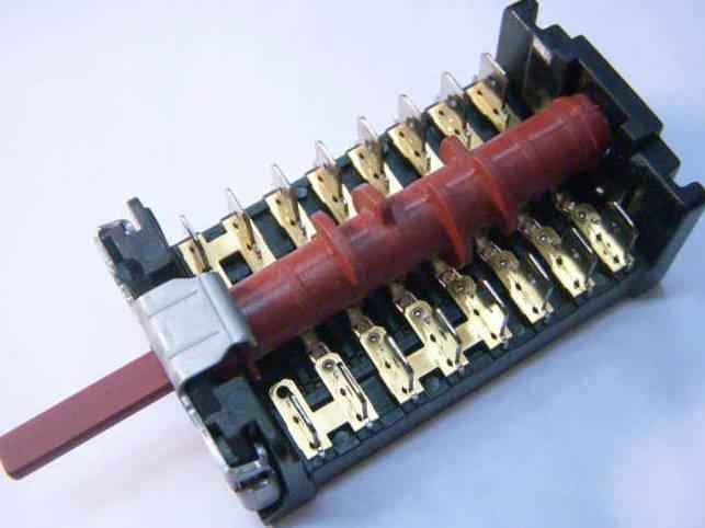 7-ми позиционный переключатель 870701K для электроплиты Beko, Orion, Candy