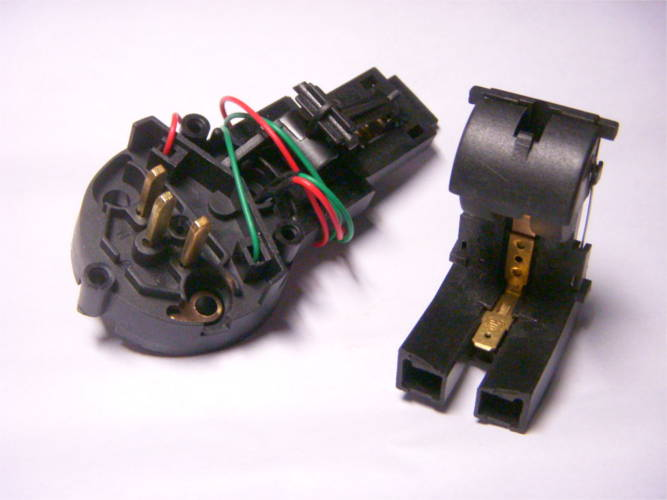 Контактная пара T135 механизм электрочайника Maxwell, Sapir