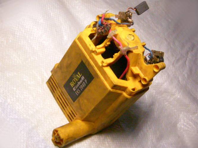 Корпус двигателя в сборе со статором для цепной электропилы Royal Einhell EKS 2040 P