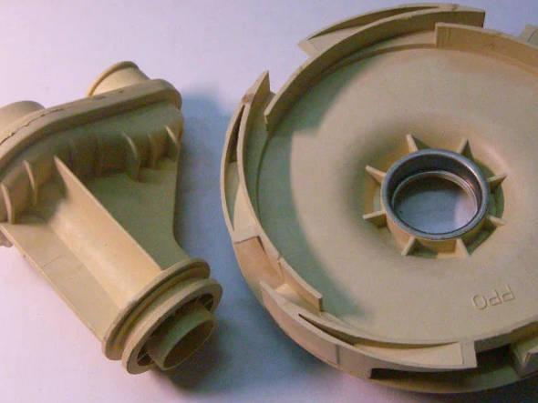 Разборный диффузор под колесо 135 мм для насоса Pedrollo, Sprut, Optima