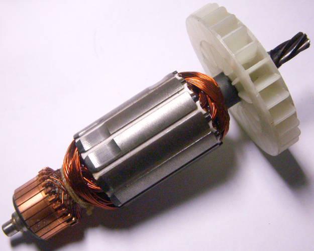 Якорь двигателя торцовочной пилы Ворскла ПМЗ-1500-210