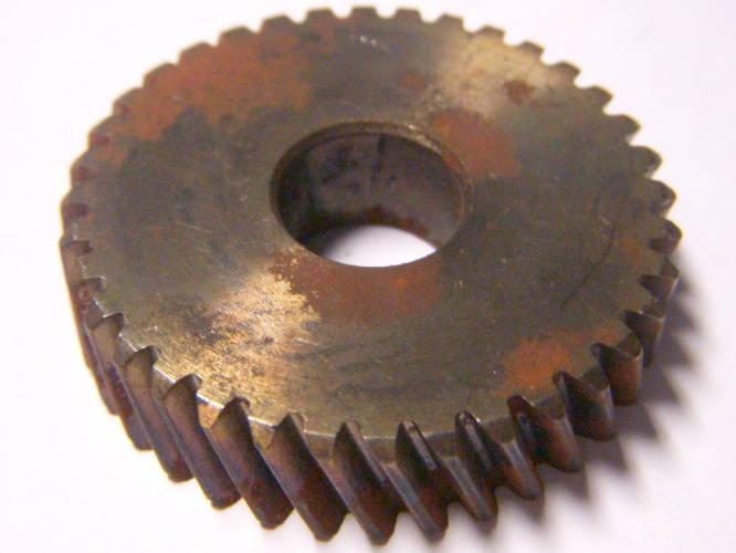 Ответная шестерня 54-го якоря дисковой пилы REBIR KZ, IE-5107 C1, Тайга ПД-180, Электромаш типа ПД-2200, диаметр 40 мм, внутри 12 мм, высота 10 мм, 36 зубов