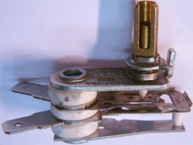Короткий регулятор электроплиты