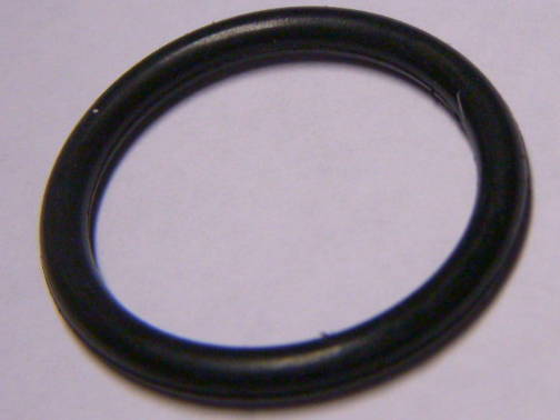 Резиновое уплотнительное кольцо для диффузора и трубки вентури насоса сечением 2.1 мм, диаметром 27 мм