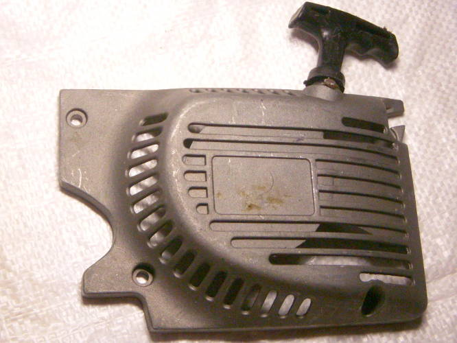 Стартер в алюминиевой крышке для бензопилы под 45-ю шину на 72 звена