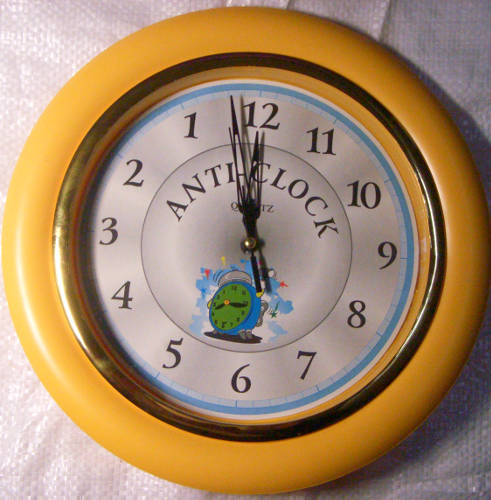 Anti-Clock Yellow