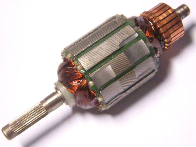 Якорь 38 мм длиной 116 мм для электротриммера Протон