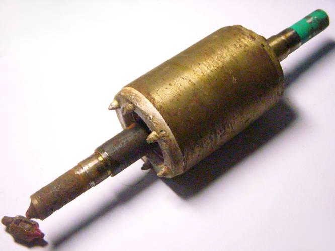 Восстановление вала ротора станции Океан auto jet 100, Kenle JS 1100, диаметр 57, длина магнитной болванки 82 мм, общая длина 257 мм