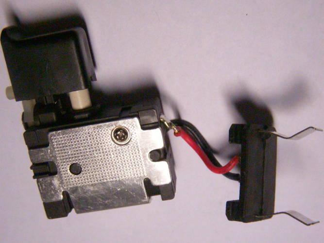 Кнопка FA021A-5103 с маленькой клавишей 7.2-24В на 16 Ампер для шуруповерта с реверсом