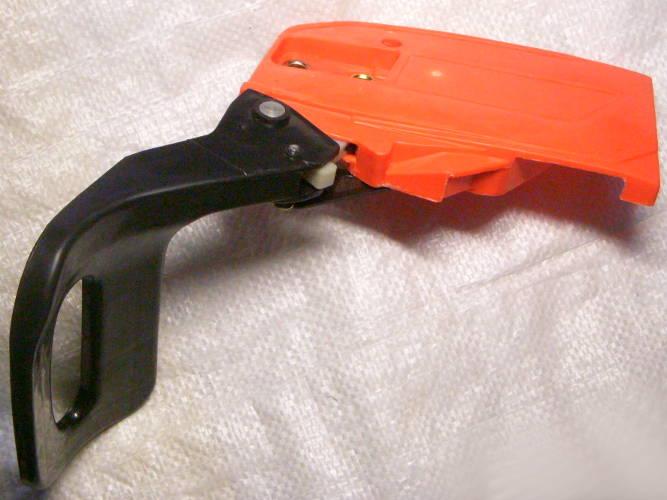 Тормоз в сборе с ручкой и крышкой корпуса для клонов бензопилы GoodLuck
