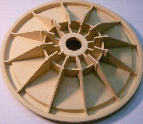 Пластиковый AUJS 80/110/SS