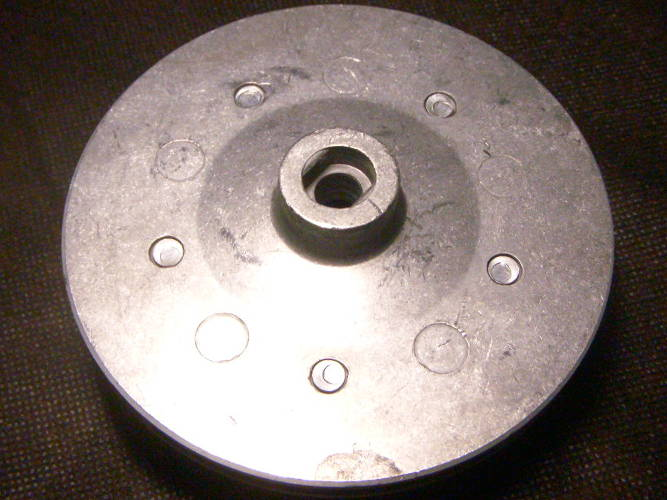 Рабочее колесо поверхностного насоса БЦ 18У-1.1 под резиновый сальник
