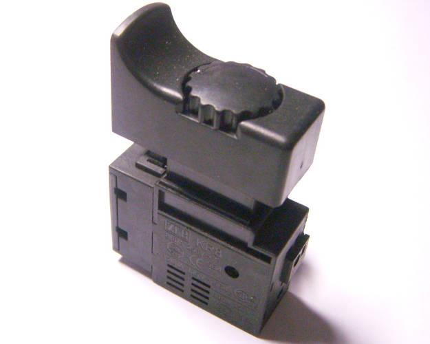 Кнопка FA2-6/1BEK для двухскоростного сетевого шуруповерта МЗПО ДЭ-10-550, с регулятором оборотов