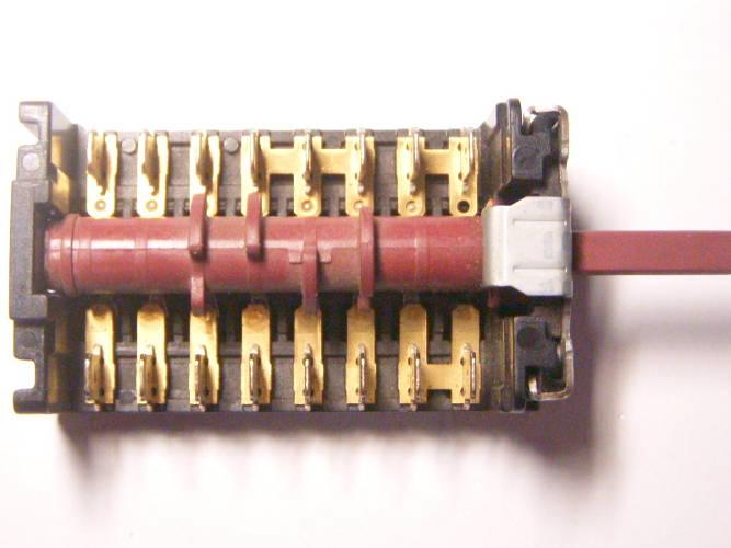 7-ми позиционный переключатель 870701K для электроплиты Orion, Candy
