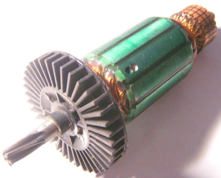 Комплектующие для электроинструмента - Дрели и перфоратора - Якорь - 38*150 Stern ID-16 Ferm