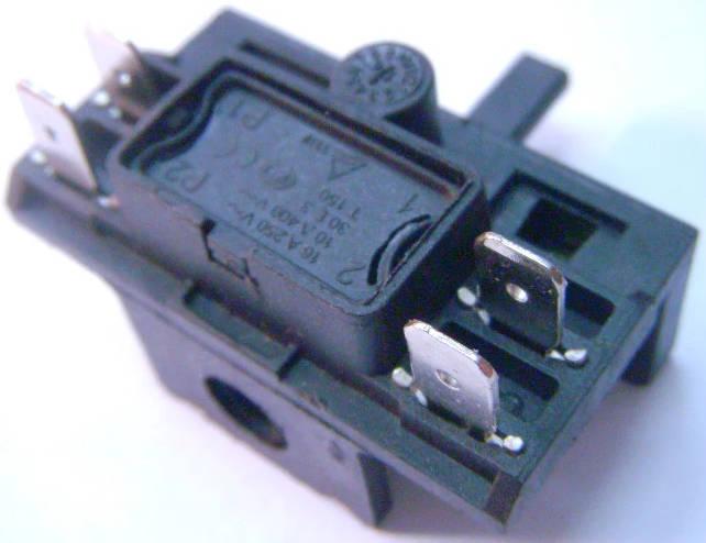 Четырехконтактный переключатель электропечи SATURN ST-EC1077, EC1072